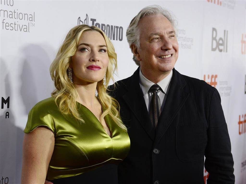 I ♥ Alan Rickman † — karthaeuser65:    Kate Winslet and Alan Rickman...