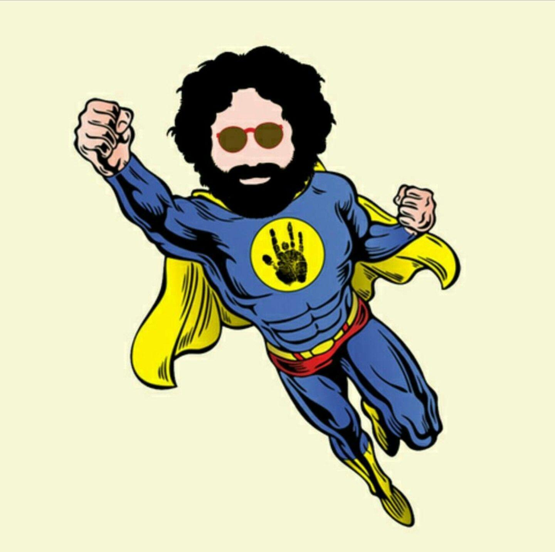 Captaintrips superhero jerrygarcia gratefuldead