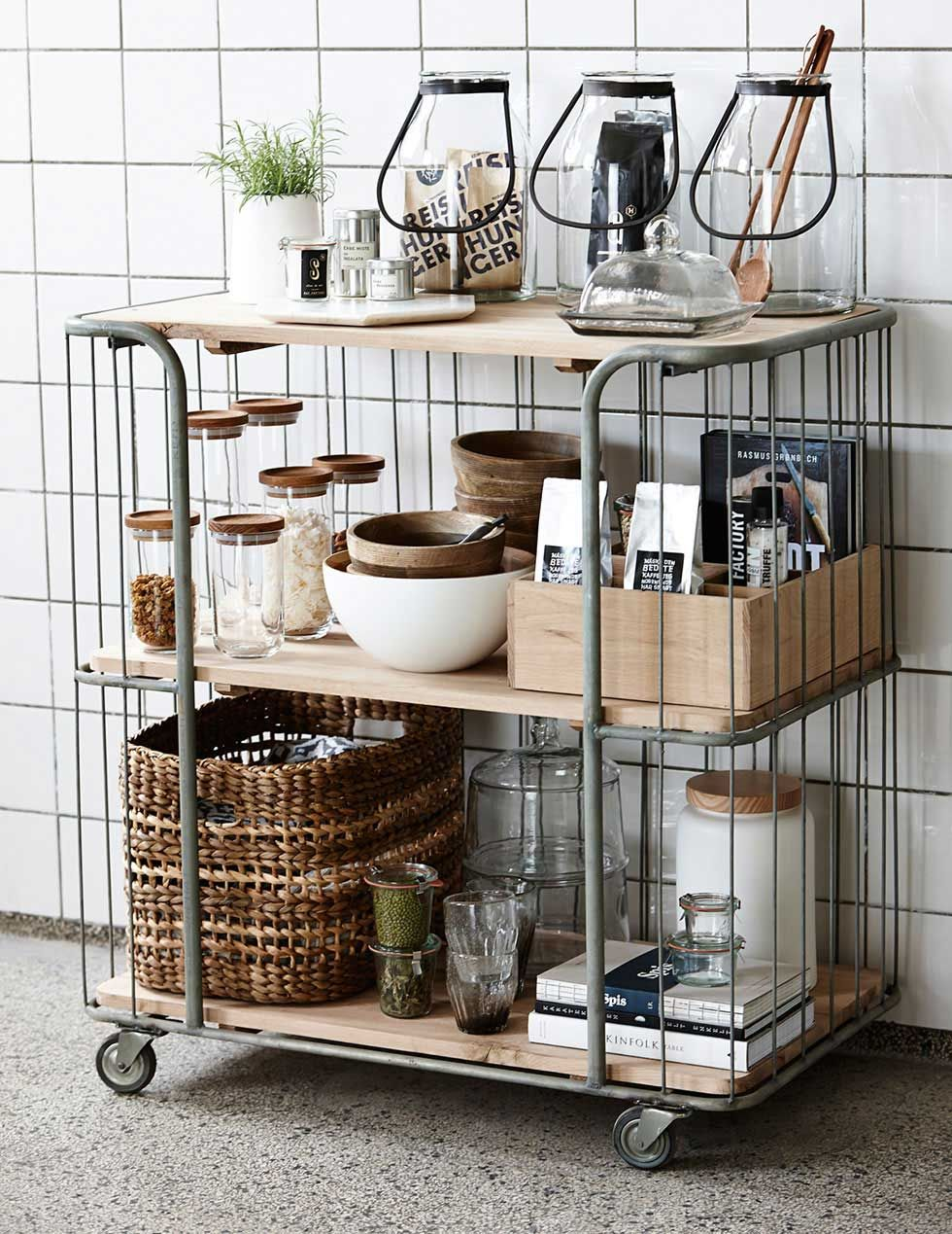 Go For Mobile Storage Trolley Kitchen