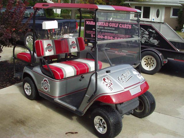 Golf Cart Ohio State Buckeyes Ohio Buckeyes Golf Carts
