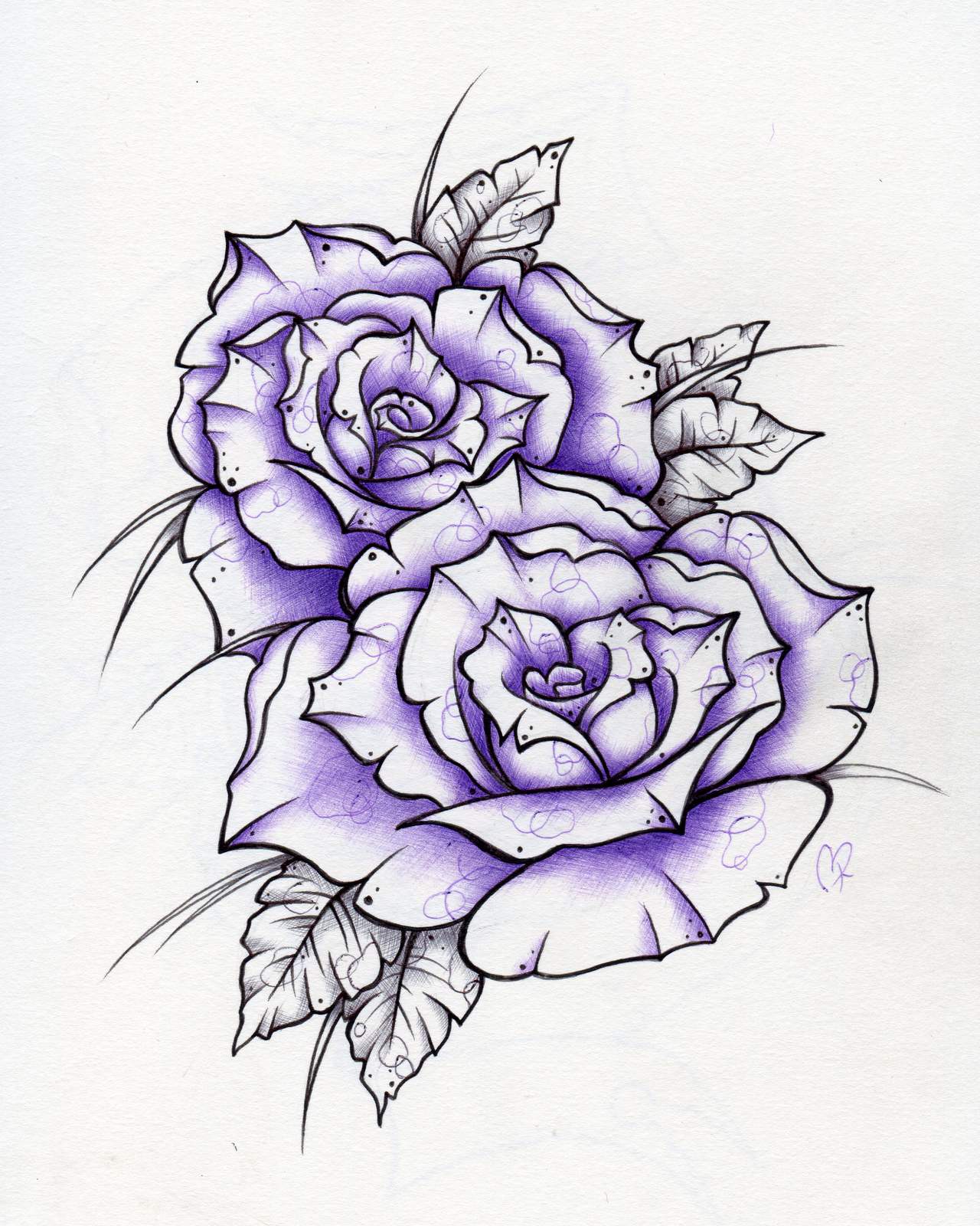 pin crosshatched rose sharpie marker tattoo on pinterest