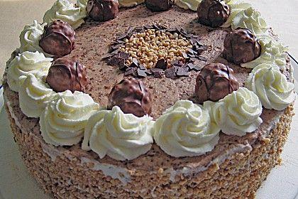 Schoko Nuss Sahne Torte Elas Backrezepte Pinterest