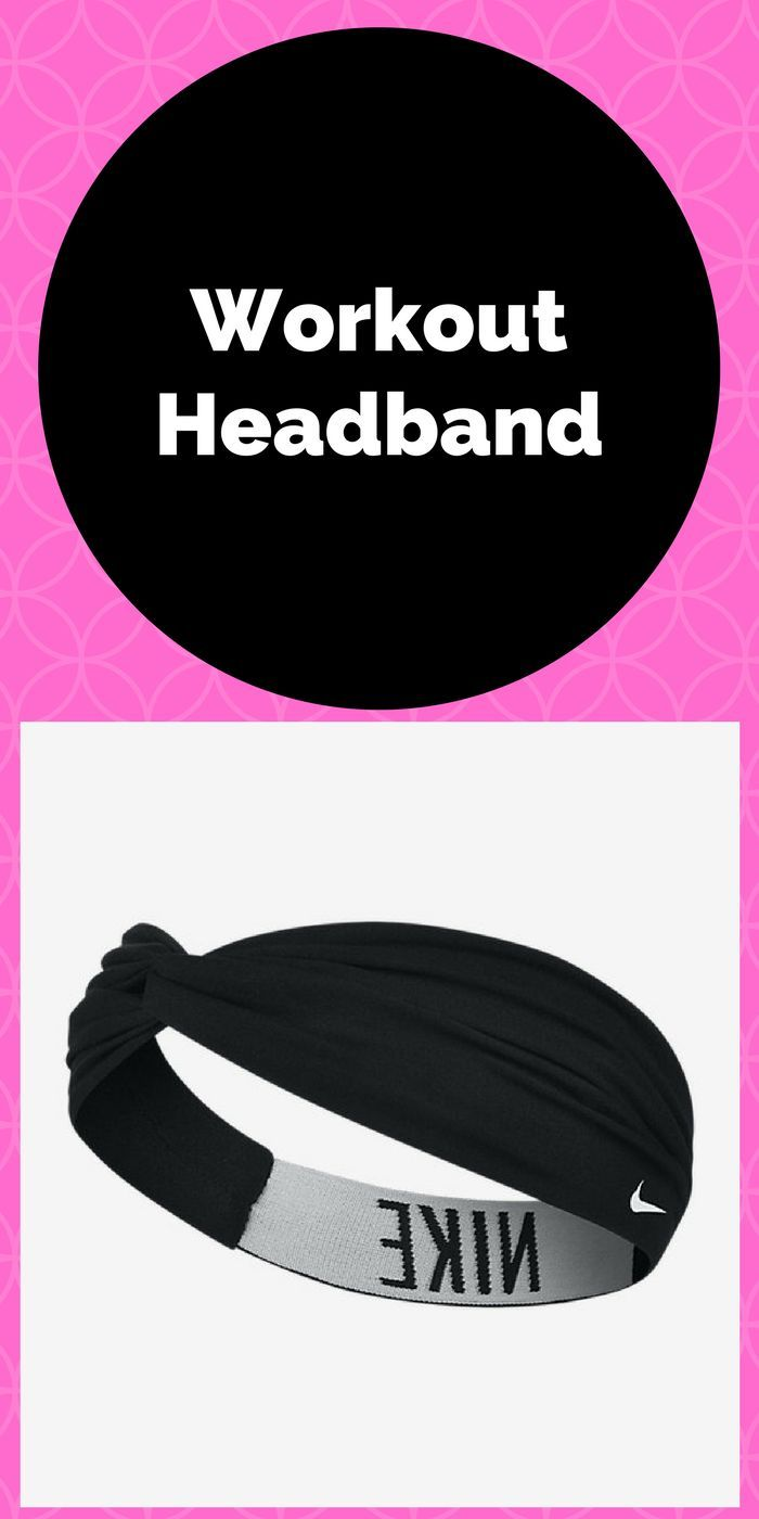 Great headband for keeping your hair out of your face ...