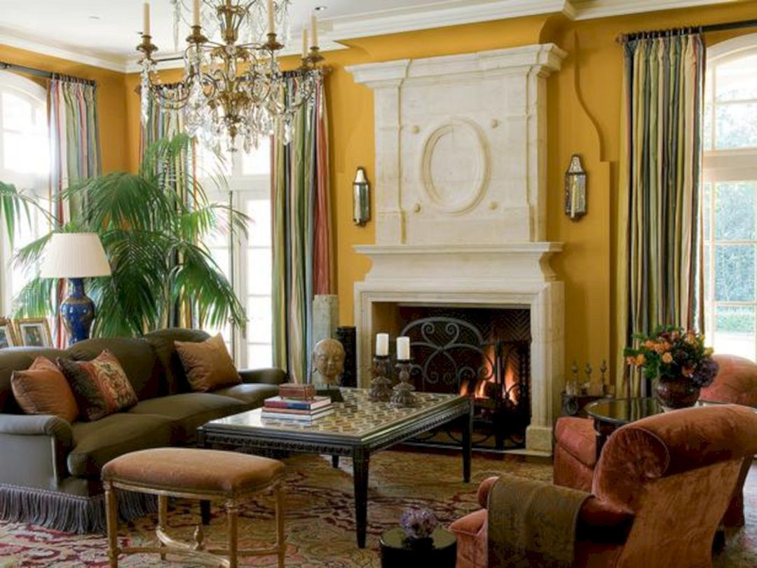 46 attractive traditional living room designs ideas in