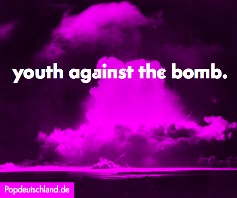 youth against the bomb.