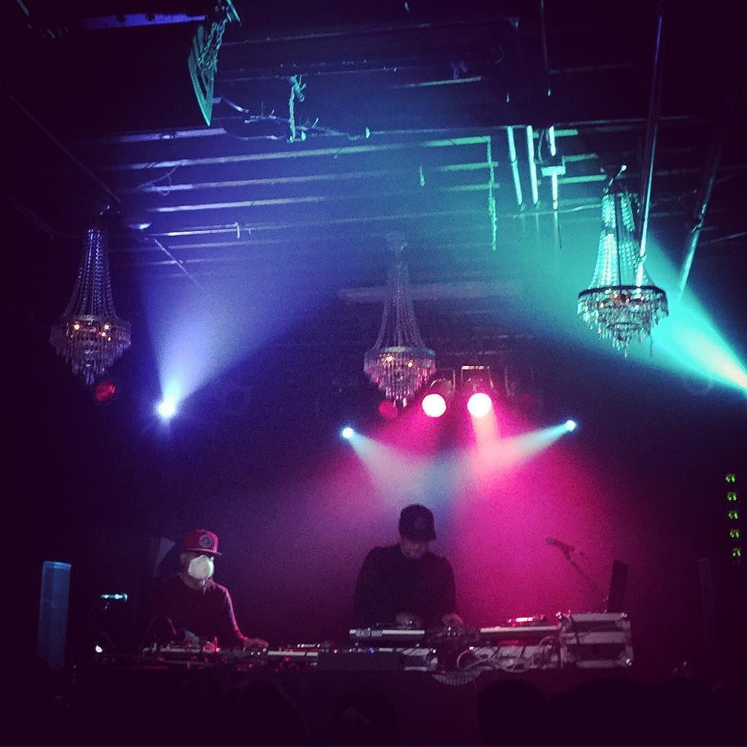 Q Bert & Mixmaster Mike #djqbert #mixmastermike #invisiblescratchpickles #beastieboys #turntablism by erinstereo http://ift.tt/1HNGVsC