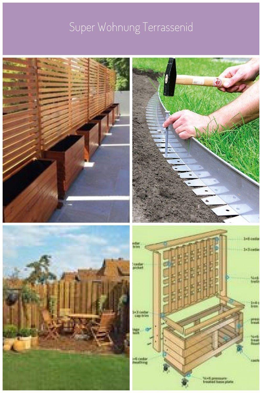 Super Wohnung Terrassenideen Balkone Sichtschutz Pflanzen Ideen