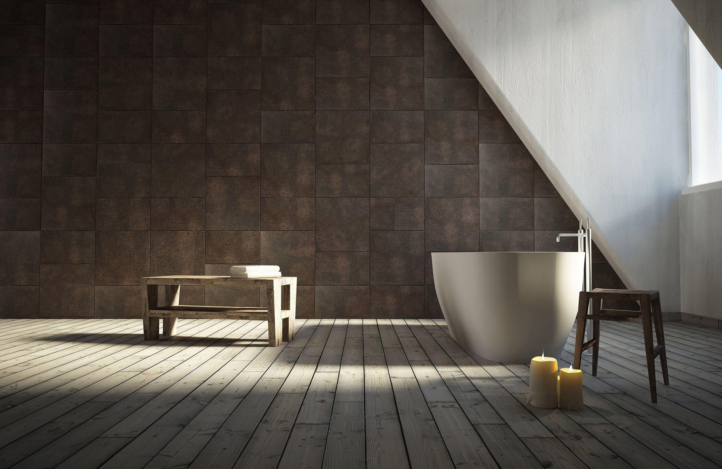 Badkamertegels van leer interiors pinterest leer tegels en