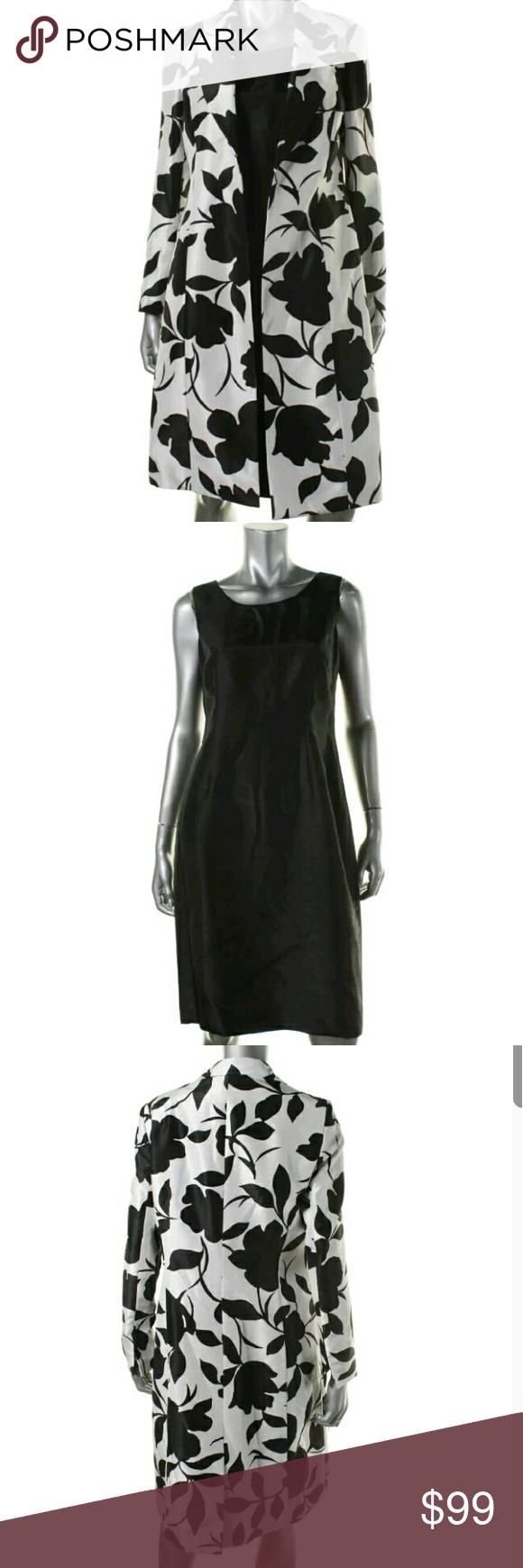 Nwt Dress Suit Set Coat And Dress Combo Sz 8 Clothes Design Fashion Fashion Design [ 1740 x 580 Pixel ]