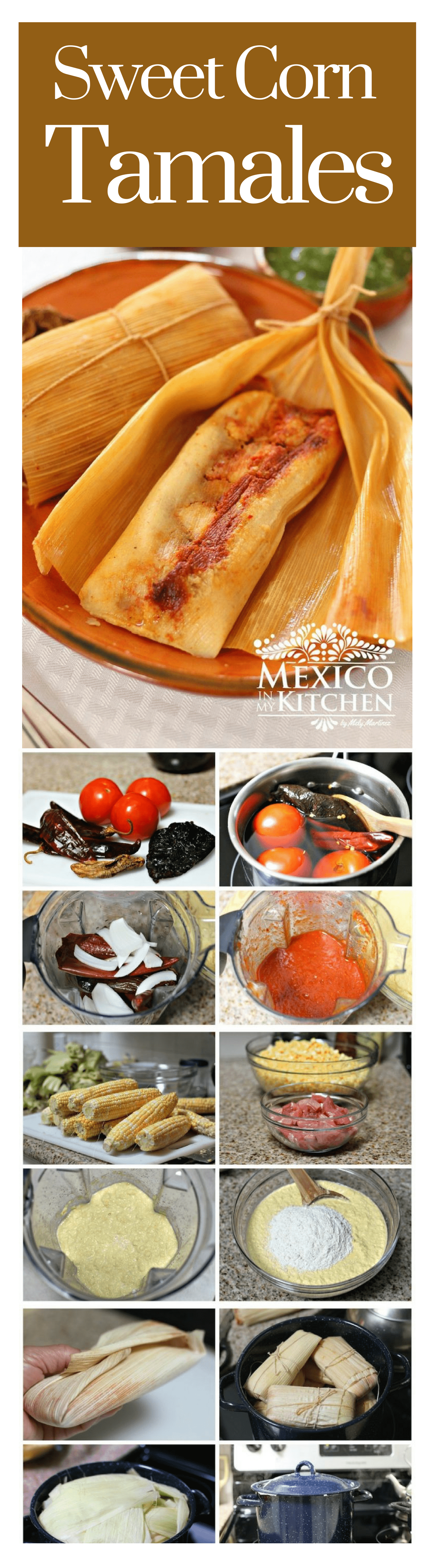 Sweet corn tamales Recipe Corn tamales, Mexican food