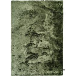 Photo of benuta Essentials Hochflor Shaggyteppich Whisper Grün 300×400 cm – Langflor Teppich für Wohnzimmerbe