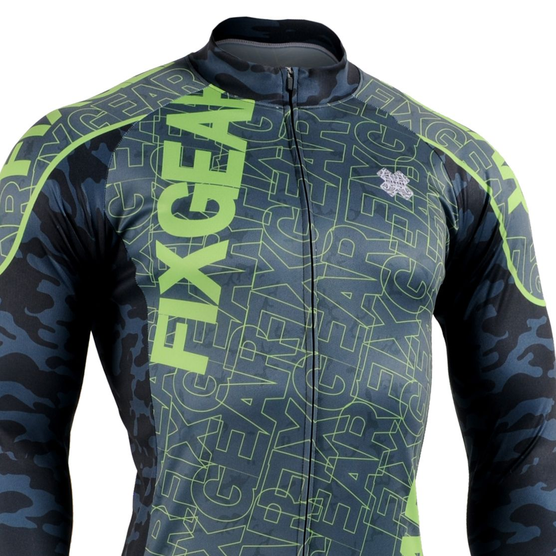 Fixgear Cs H101 Men S Long Sleeve Cycling Jersey Cycling Outfit