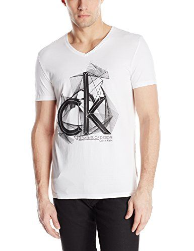 75a33f29e Calvin Klein Men's CK One Logo Graphic Tee Our collectible logo tee ups the  cool factor of any look, whether you pair it alone with jeans or layer it  under ...