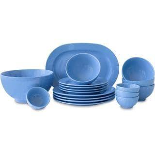 Waechtersbach Fun Factory Blue Bell Blue Ceramic 18-piece Dinnerware Set (Blue Bell 18 Piece) | Casual dinnerware Tabletop and Dinnerware  sc 1 st  Pinterest & Waechtersbach Fun Factory Blue Bell Blue Ceramic 18-piece Dinnerware ...