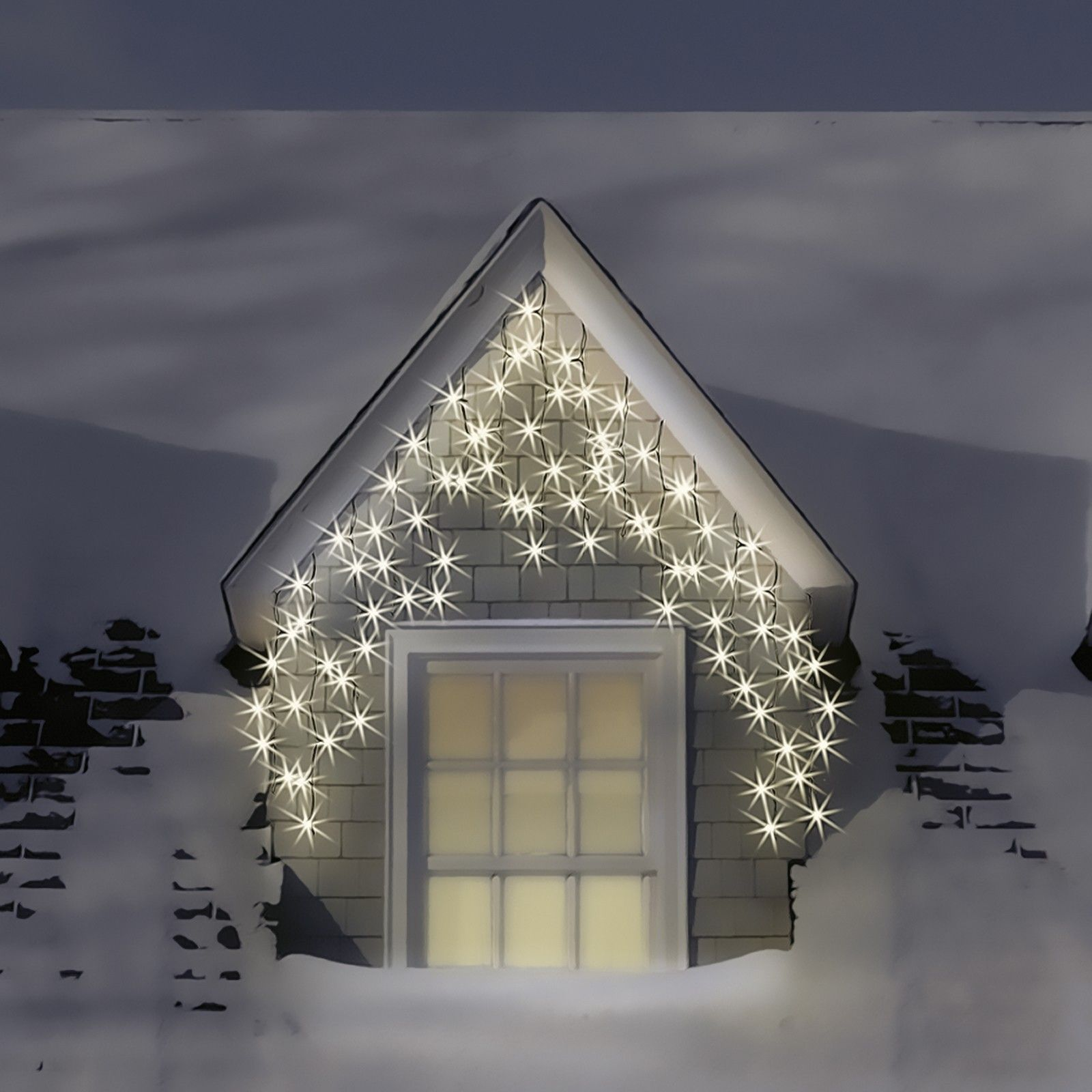 Connectable Outdoor Christmas Lights: 17 Best images about LED Icicle Lights Warm White on Pinterest | Cable,  Warm and Christmas icicle lights,Lighting