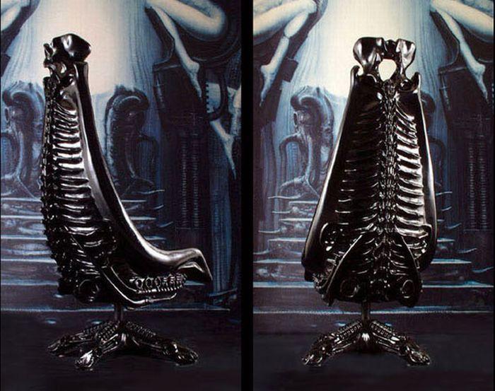 918bf1989a9d5b top 5 h.r. giger designs list- high fidelity notes  2 Dune Harkonnen Chair