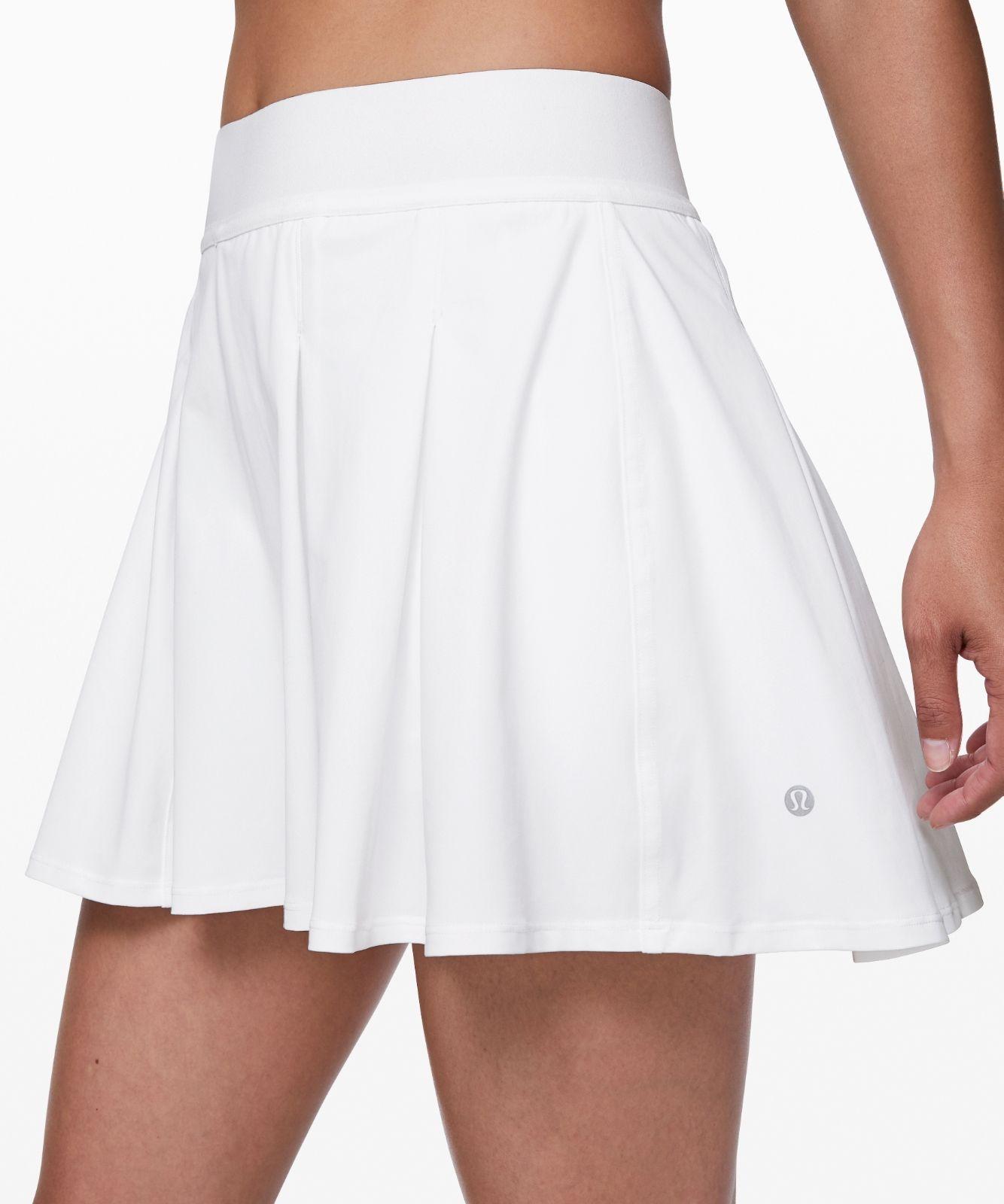 Tennis Time Skirt 15 Lululemon Eu In 2020 Workout Skirt Outfit Tennis Outfit Women Tennis Skirt Outfit