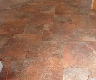 12x12 And 18x18 Hopscotch Pattern Kitchen Floor Tile Patterns Patterned Floor Tiles Tile Stained