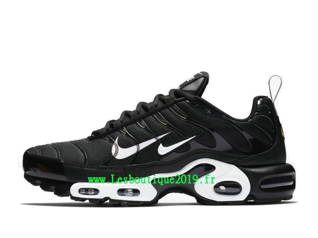 finest selection 9bdee 57345 Nike Air Max Plus Premium Noir Blanc Chaussures Nike Tuned 1 Pas Cher Pour  Homme 815994-004 - 1812031083 - Achetez de Chaussure de Baskets ! Nike en  ligne!