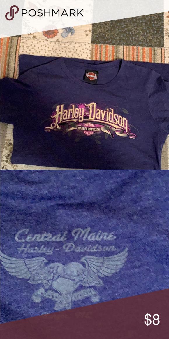 Harley Davidson Ladies T Shirt T Shirts For Women Shirts Harley Davidson