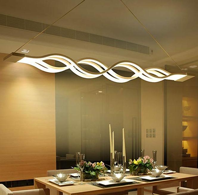 Luminaire Suspendus Plafond   Lustre salle à manger, Déco