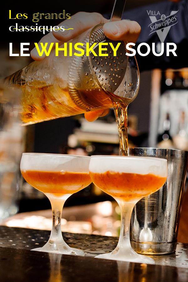 Le cocktail Whisky Sour : la recette du plus populaire des