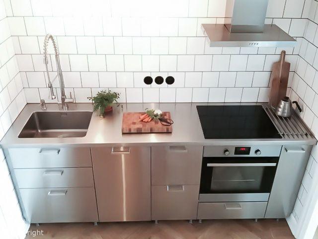 Industristil till 100%! - bild 1 | Küche edelstahl ...