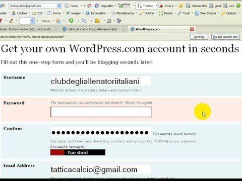 Wordpress - Come creare GRATIS un blog