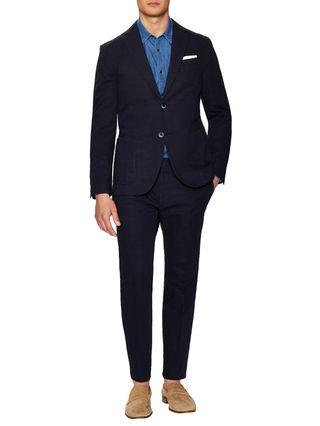 Luca Roda Solid Notch Lapel Suit