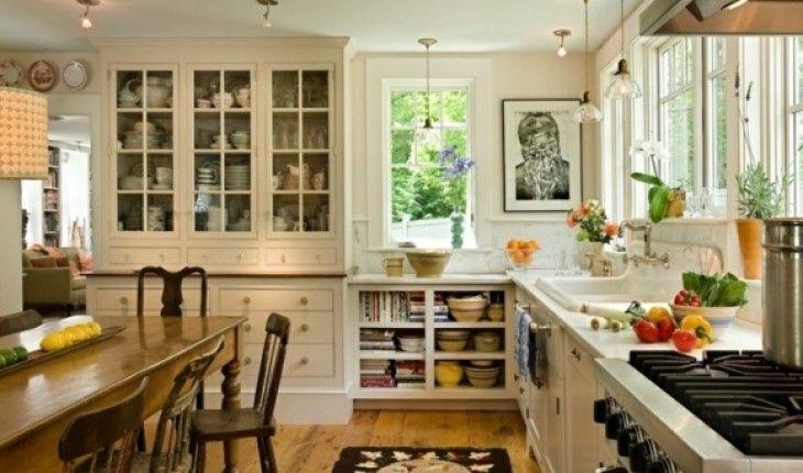 déco cuisine chaleureuse | Kitchen/laundry | Rustic kitchen ...