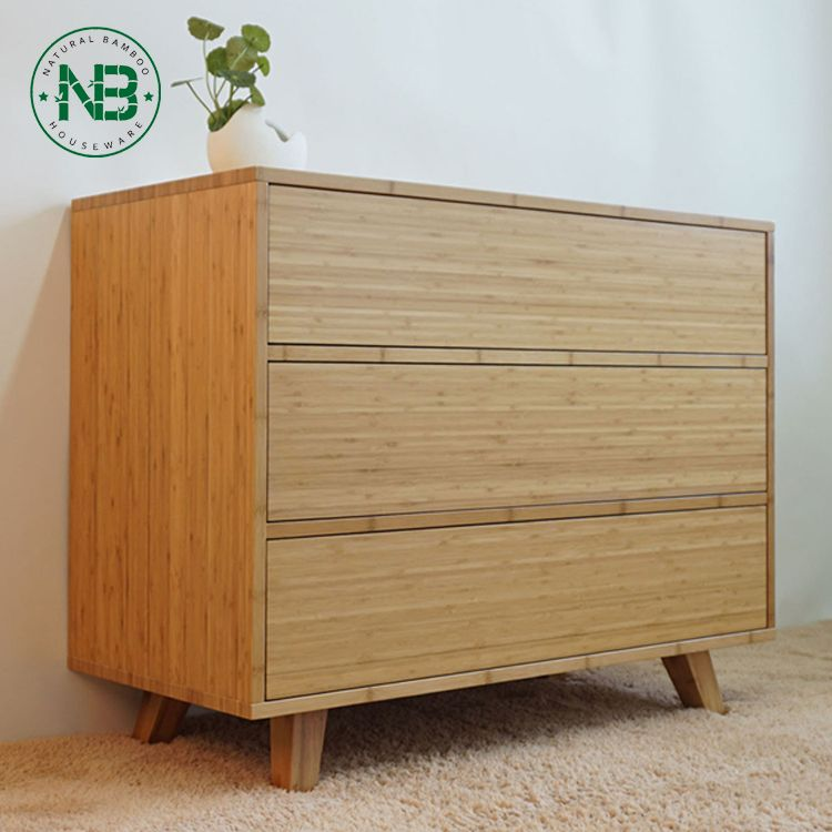 Genial Bamboo Cabinet With Drawer Furniture
