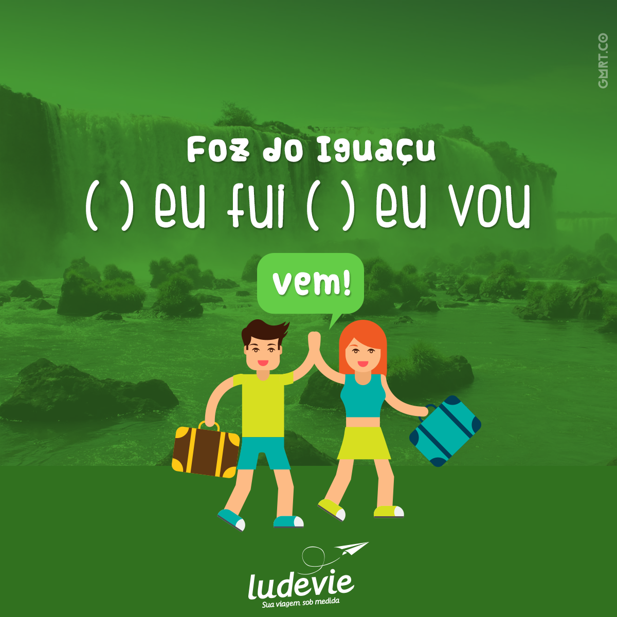 Foz do Iguaçu  Viagem | Viajar | Travel | Frases de Viagem http://blog.ludevie.com.br