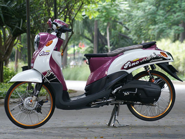 Modifikasi Yamaha Fino Thailook Simple