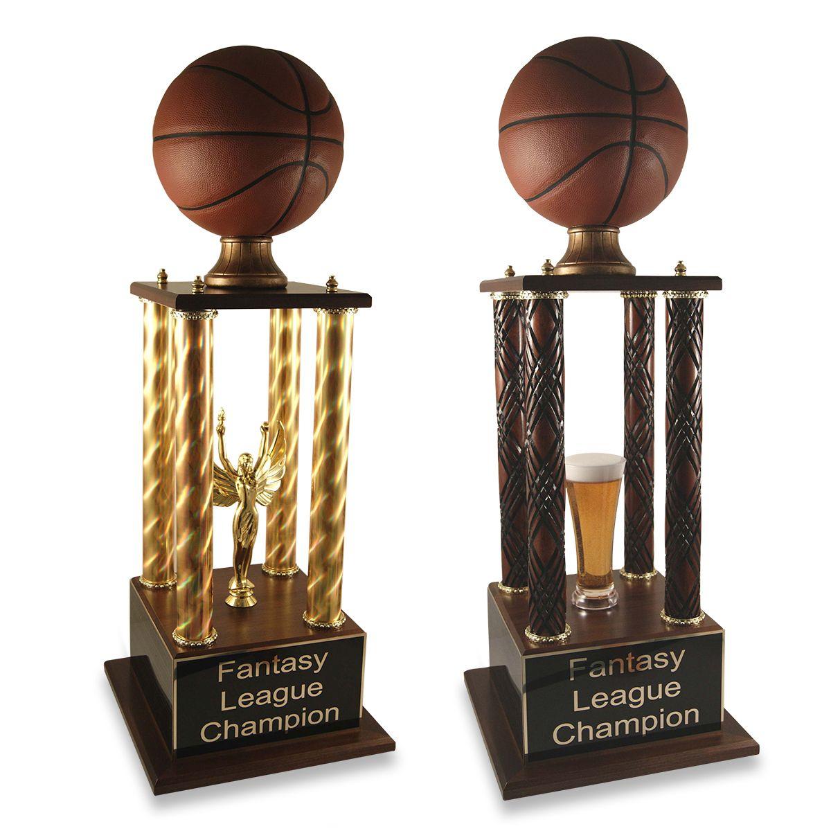 Prestige Fantasy Basketball Trophy Basketball Trophies Fantasy Basketball Fantasy Football Gifts