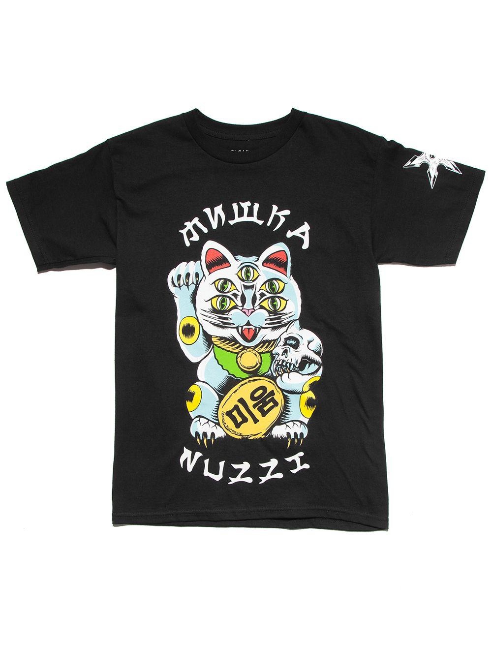 Spencer Nuzzi: Luck's Run Out T-Shirt (Black)
