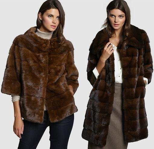El corte ingles abrigo de pelo