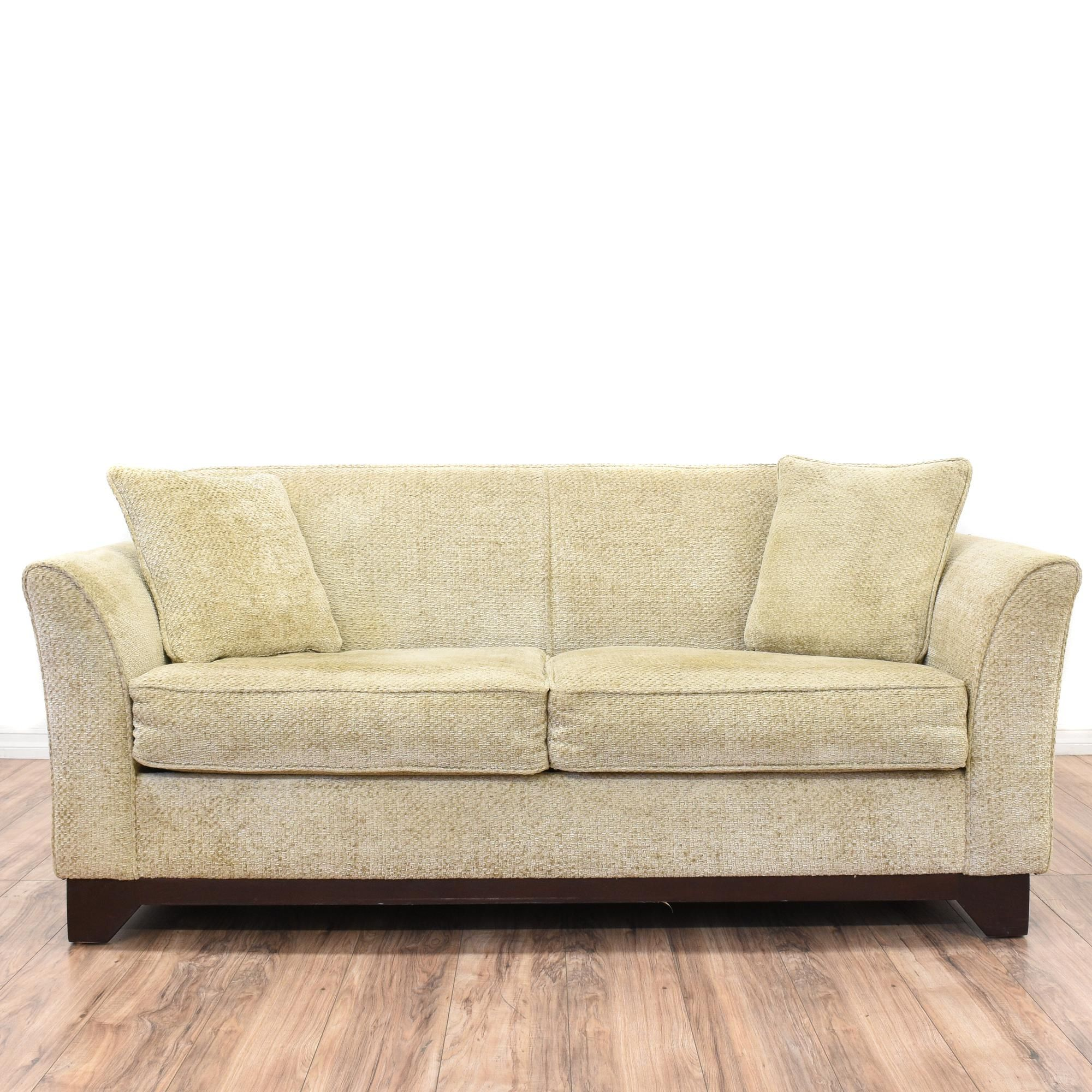 Tremendous This Sofa Bed Is Upholstered In A Soft Beige Microfiber Lamtechconsult Wood Chair Design Ideas Lamtechconsultcom