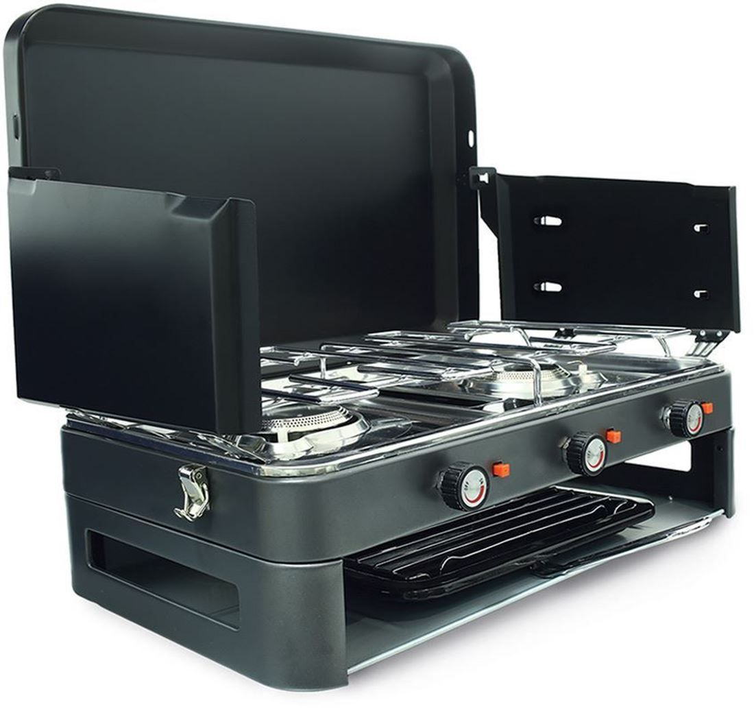 Get Free Delivery On Zempire 2 Burner Dlx Stove Grill Huge Range Of Camp Cooking Gear At Australia S Best Online Cam Camping Stove Best Camping Stove Stove
