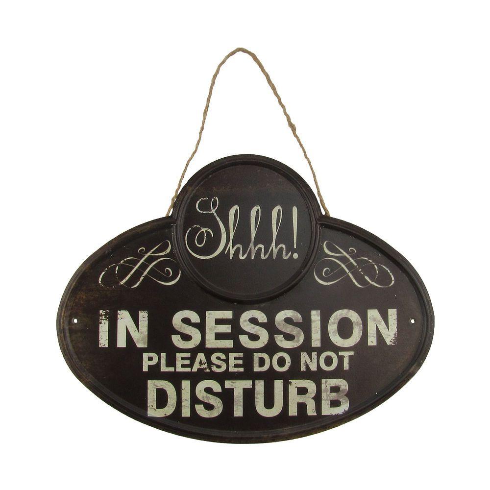 sh quiet in session please do not disturb sign business meeting door