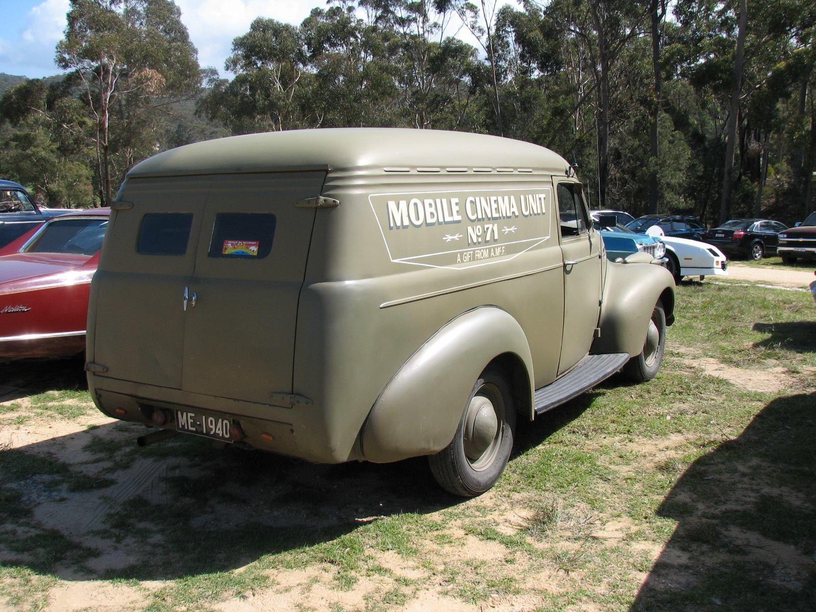 1940 Holdens Body Australia Chevrolet Ex Army Radio Panel Van Chevrolet Cars Trucks Vans