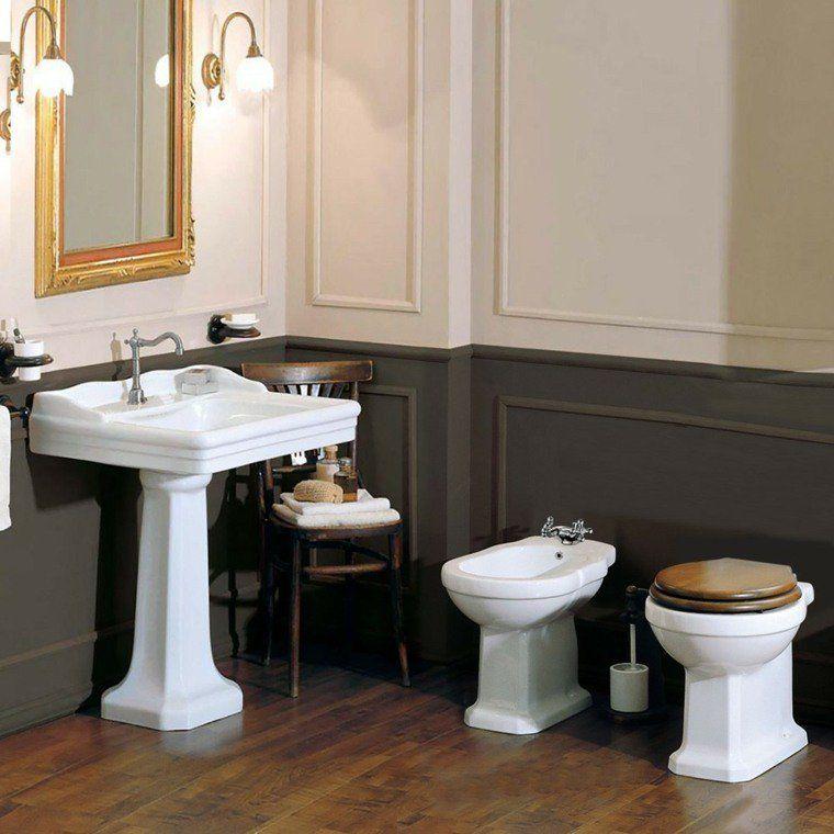 déco salle de bain rétro: du charme à l'ancienne | styles rétro ... - Salle De Bain Rose Et Marron