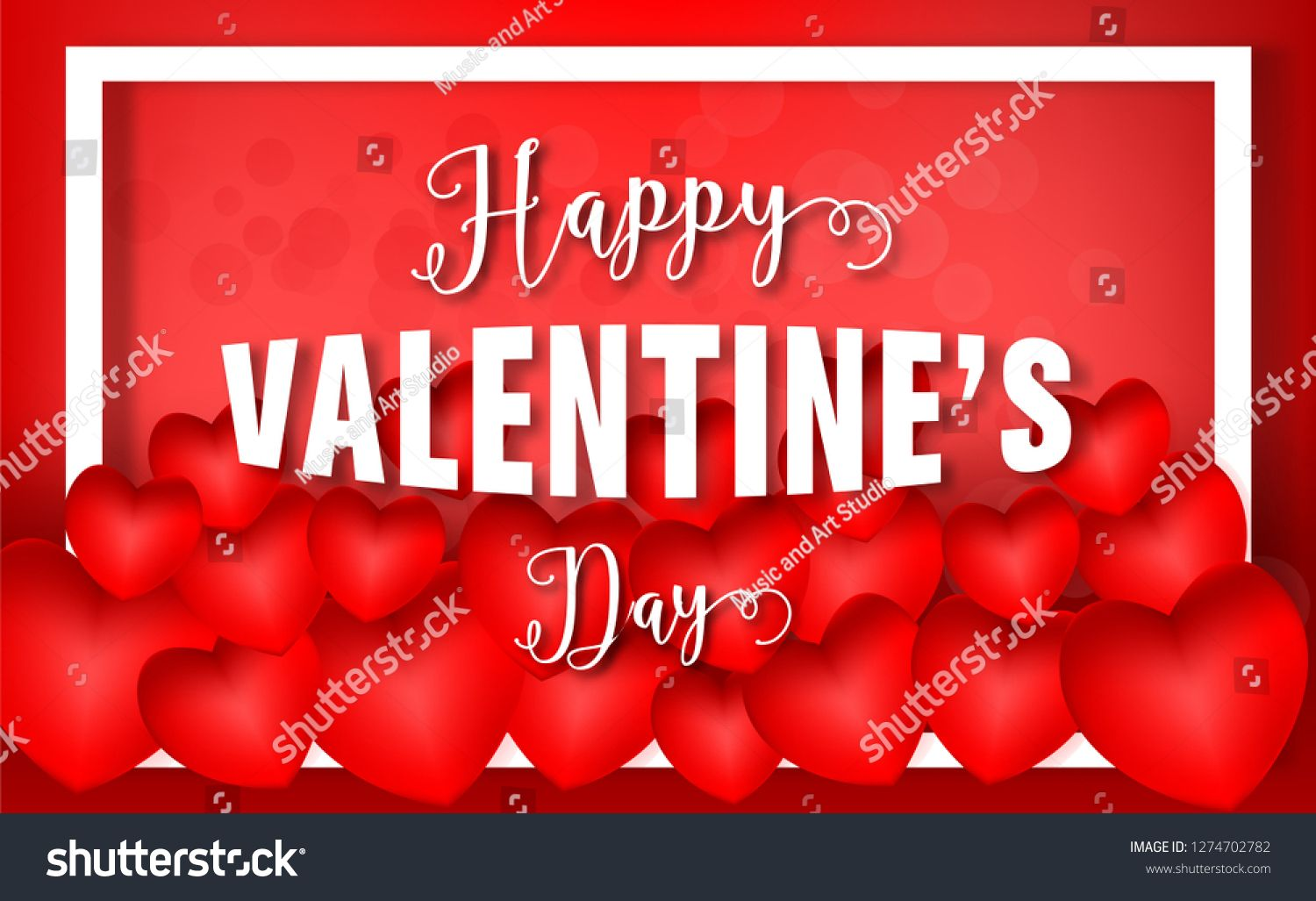 Valentines Day 3d Red Hearts And Happy Valentines Day Text Background Clip Art Design For Greetings Card Love Happy Valentine Valentines Happy Valentines Day