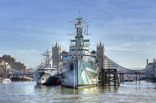 HMS Belfast by almonkey