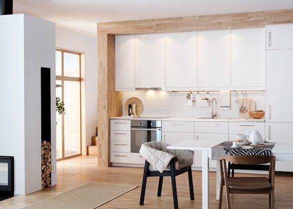 ikea k che metod in weiss essplatz pinterest k che umbauen alte k che und google. Black Bedroom Furniture Sets. Home Design Ideas