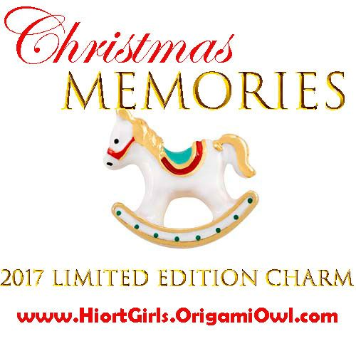 Rocking Horse Charmmited Edition From Origami Owl Wonderful