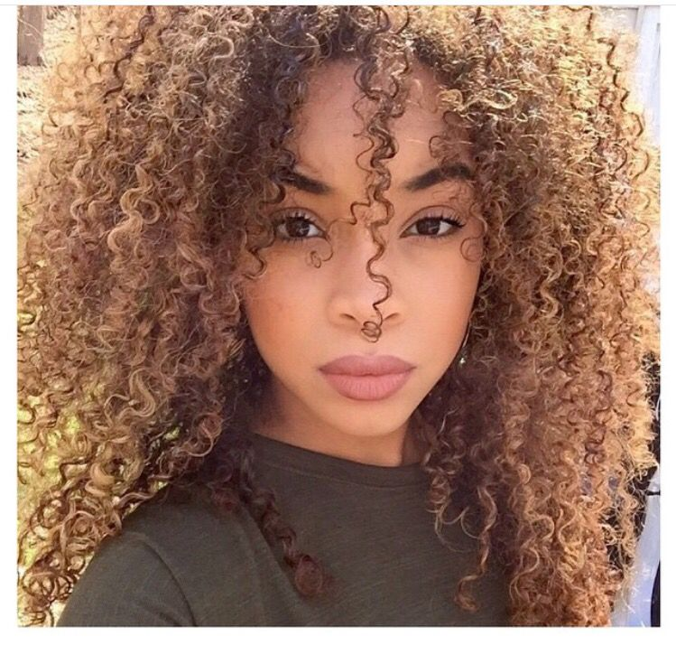 Curly Light Brown Hair 3c Natural Hair Curly Light Brown Hair Natural Hair Styles