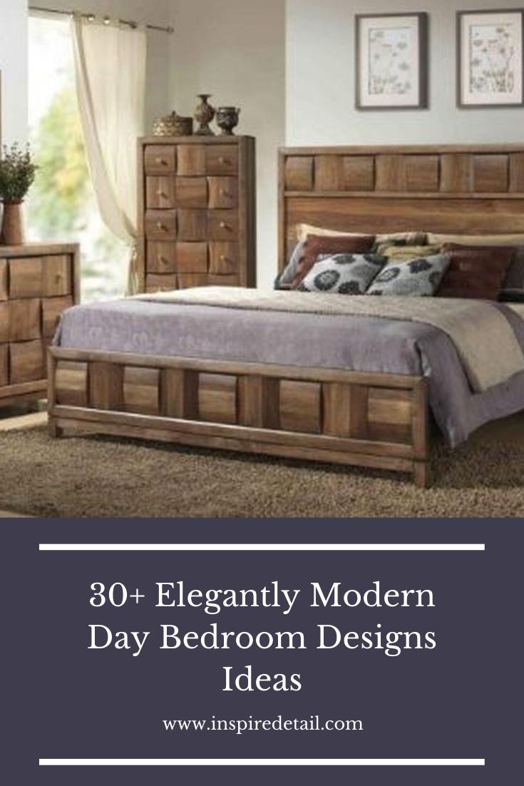 30+ Elegantly Modern Day Bedroom Designs Ideas #modernbedroom