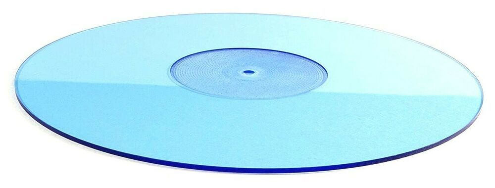Blue Acrylic Slipmat Vinyl Record Album Lp Turntable Platter Slip Mat Capcollectiblescom In 2020 Vinyl Records Vinyl Record Album Vinyl