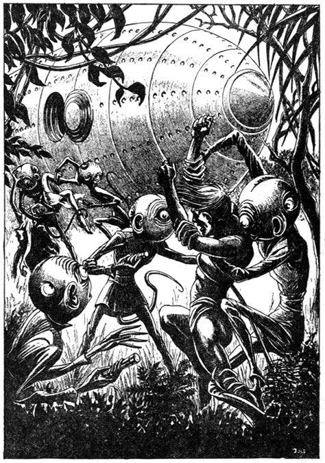 Elliott Dold - SciFi illustration 1940