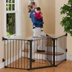 Kidco Configure Auto Close Gate -- for bottom of stairs when she starts walking